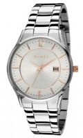 Accurist MB649SR Gents Stainless Steel Bracelet Silver Dial Date Watch